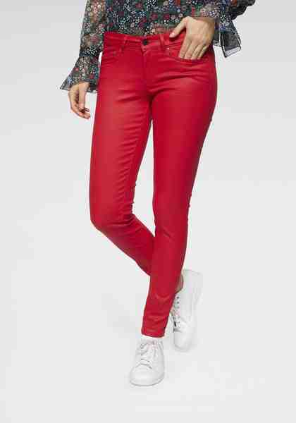 Pepe Jeans Skinny-fit-Jeans »PIXIE« mit trendiger Glanzbeschichtung