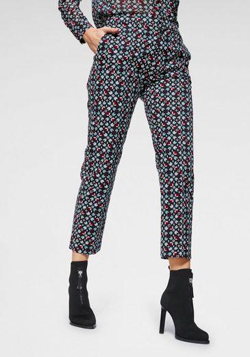 Pepe Jeans 7/8-Hose »LISA« mit graphischem Allovermuster