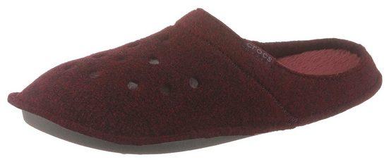 Crocs »Classic Slipper« Hausschuh mit kuscheligem Warmfutter