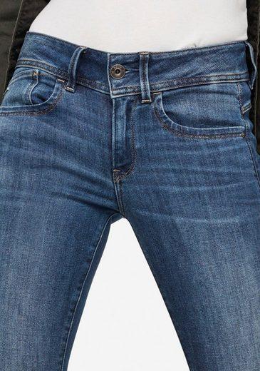 New« Stretch Mid »lynn Wmn pocket Raw G jeans 5 star Skinny Mit wapUwqz