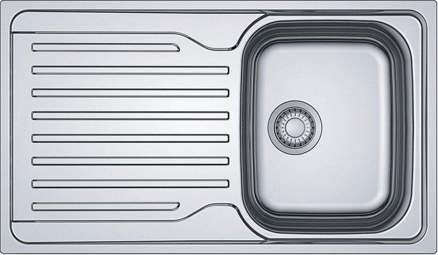 OPTIFIT Edelstahl-Einbauspüle | Küche und Esszimmer > Spülen > Einbauspülen | OPTIFIT
