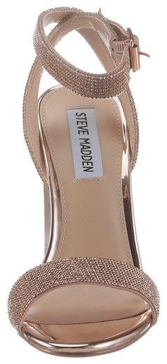 Madden heel Plexi Steve Riemchensandalette »crysler« Mit dU4dz7q