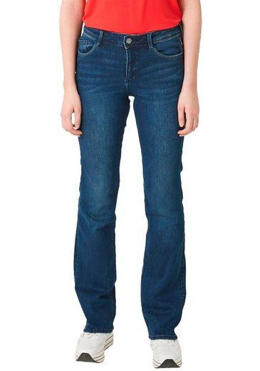 s.Oliver Bootcut-Jeans mit ausgestelltem Bein