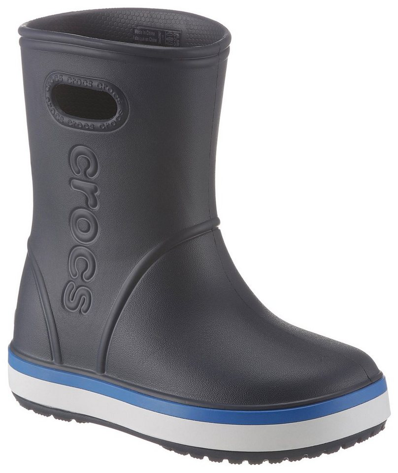 designer fashion 10222 a67b4 Crocs »Crocband Rain Boot Kids« Gummistiefel mit reflektierendem Logo  online kaufen | OTTO
