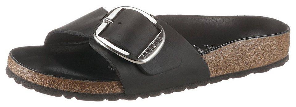 199994c7ef342a Birkenstock »MADRID BIG BUCKLE« Pantolette mit ergonomisch geformten  Fußbett