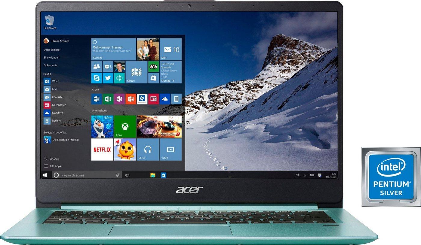 Acer Swift 1 Notebook (35,6 cm/14 Zoll, Intel Pentium, 256 GB SSD)