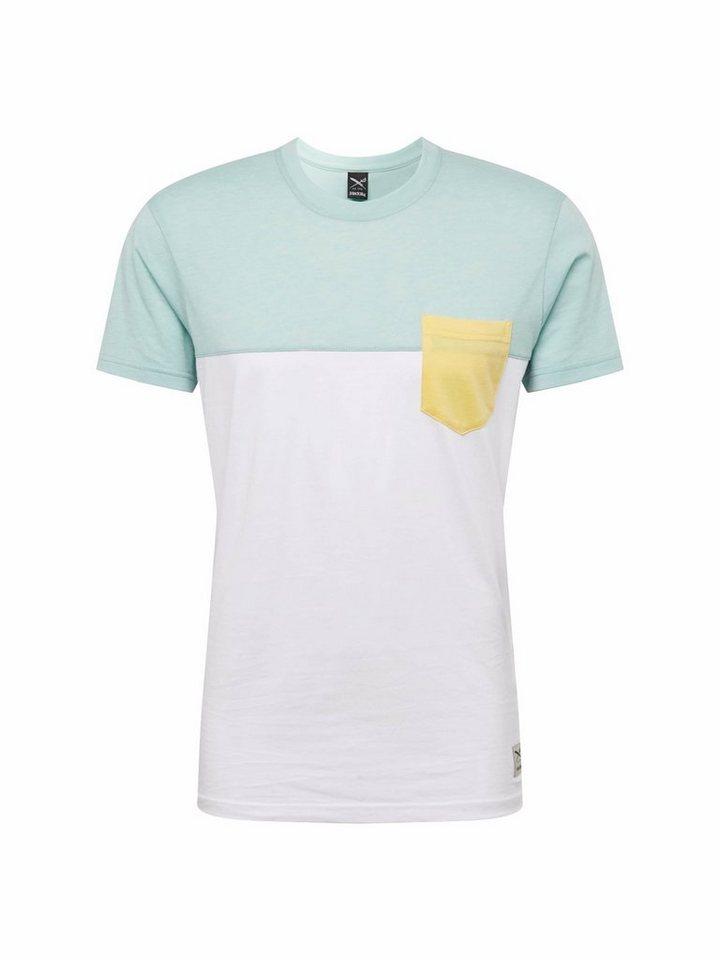 iriedaily Rundhalsshirt »Block Pocket 2 Tee«