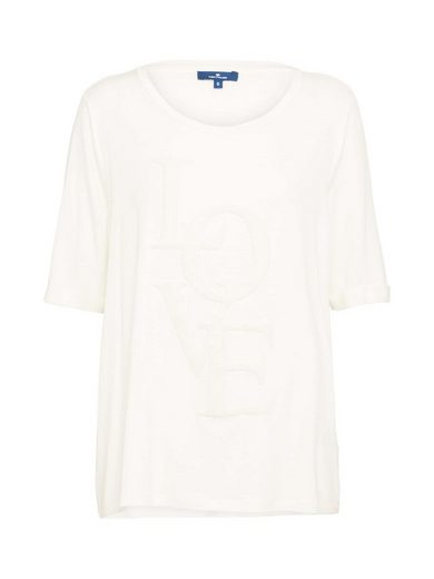 TOM TAILOR 3/4-Arm-Shirt »love shirt«