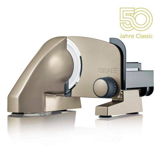 """Graef Allesschneider Classic C 15 """"Jubiläumsedition - 50 Jahre Classic"""", 170 W"""