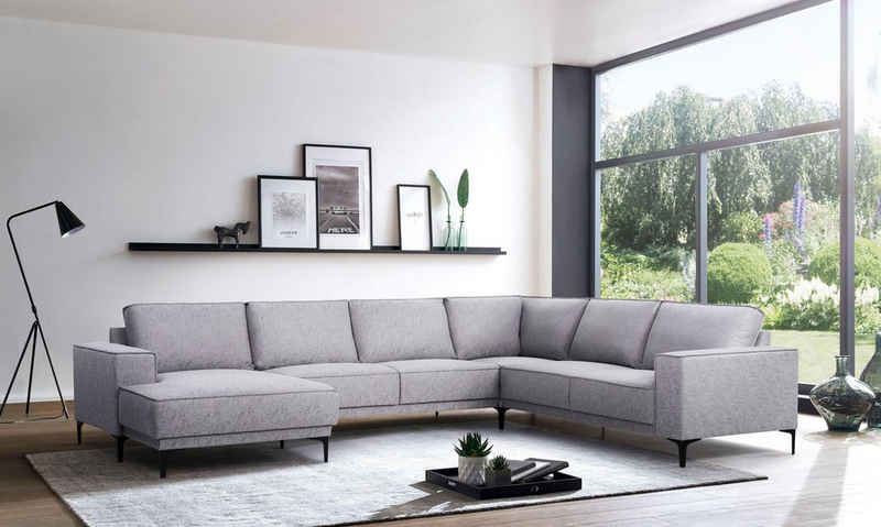 Places of Style Wohnlandschaft »Oland«, im zeitlosem Design und hochwertiger Verabeitung