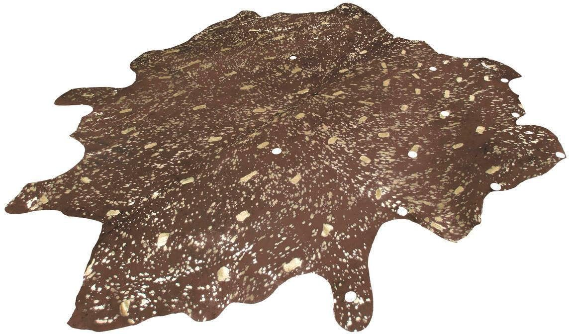 Fellteppich »Glam 110«, Kayoom, fellförmig, Höhe 8 mm, echtes Rinderfell