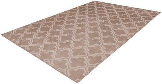 Teppich »Monroe 100«, Arte Espina, rechteckig, Höhe 7 mm, besonders weich durch Microfaser, Wohnzimmer