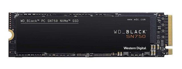 Western Digital WD BLACK SN750 NVMe SSD Innovative NVMe SSD-Performance