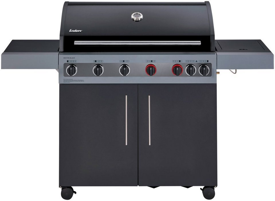 Enders Gasgrill Monroe 3 Sik Turbo : Enders gasgrill »boston black 6 kr turbo« bxtxh: 166 5x60x115 cm