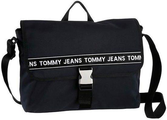 Jeans Tommy Mit Laptopfach Gepolstertem Messenger Bag 7wdUx4Aq