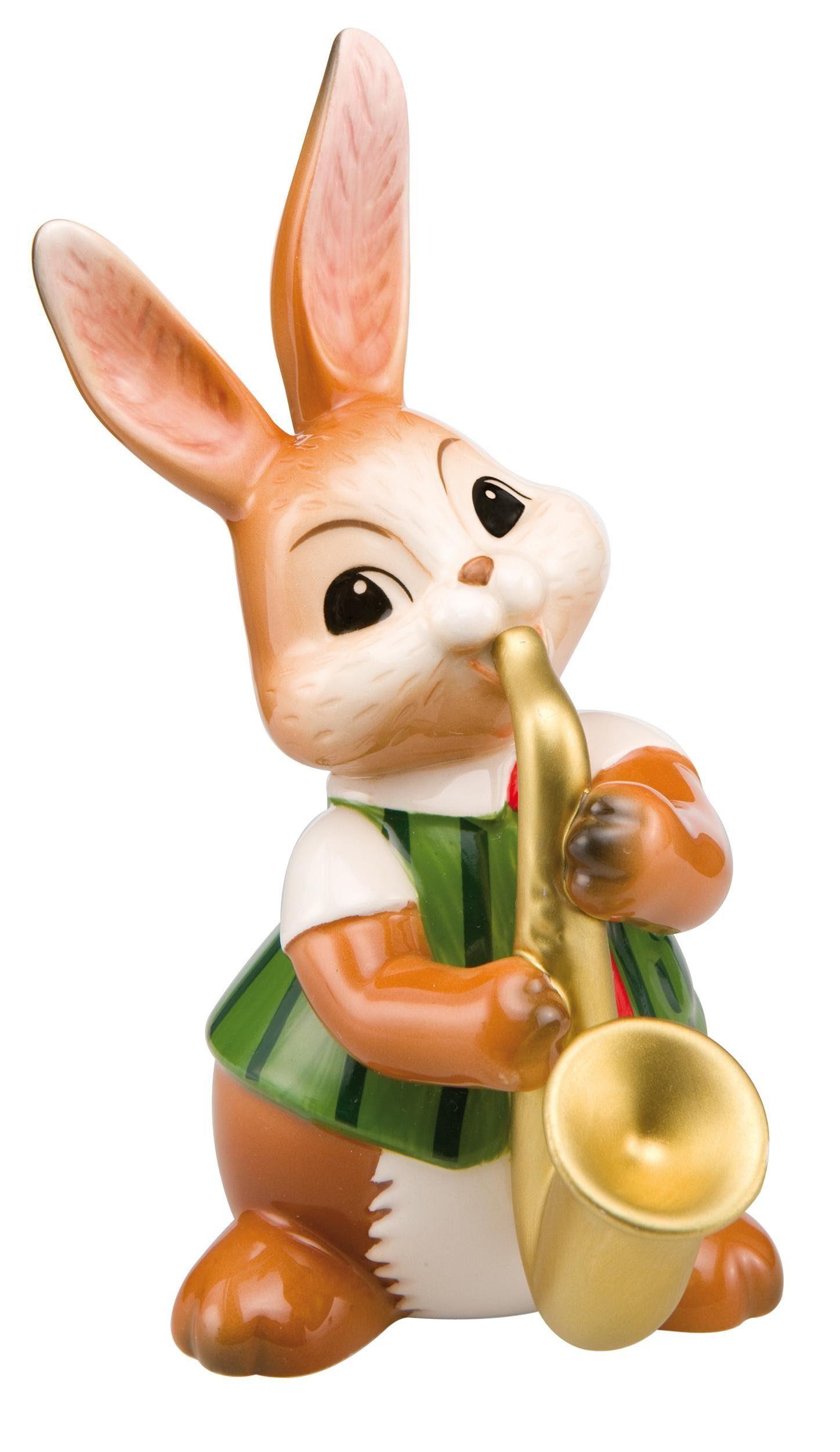 Goebel Sammelfigur »Saxophonspieler« (1 Stück), Osterhase