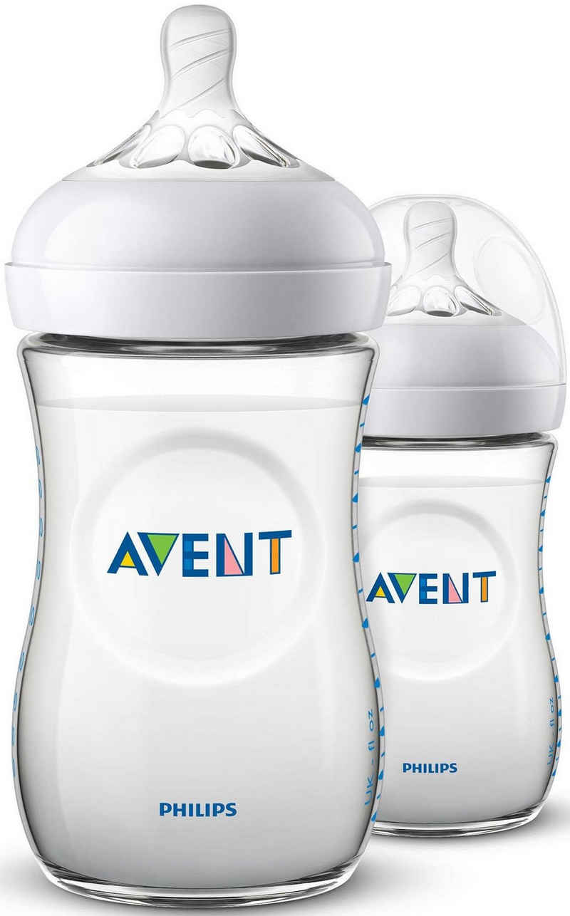 Philips AVENT Babyflasche »Natural Flasche SCF033/27«, Anti-Kolik-System