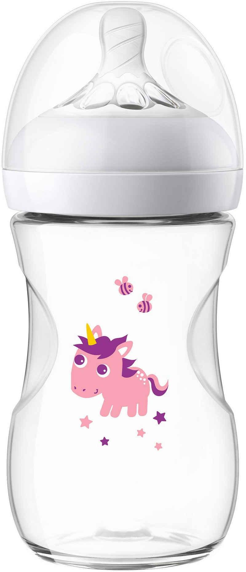 Philips AVENT Babyflasche »Natural Flasche SCF070/25«, Anti-Kolik-System