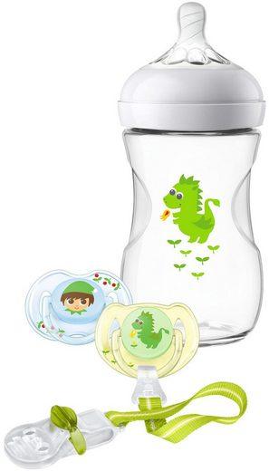 Philips AVENT Babyflasche »SCD287/24«, Geschenkset für Jungen