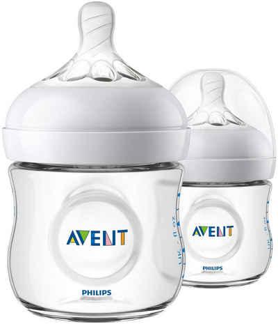 Philips AVENT Babyflasche »Natural Flasche SCF030/27«, Anti-Kolik-System