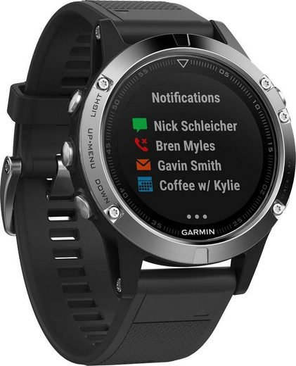 Garmin fēnix 5 Smartwatch (1,2 Zoll)