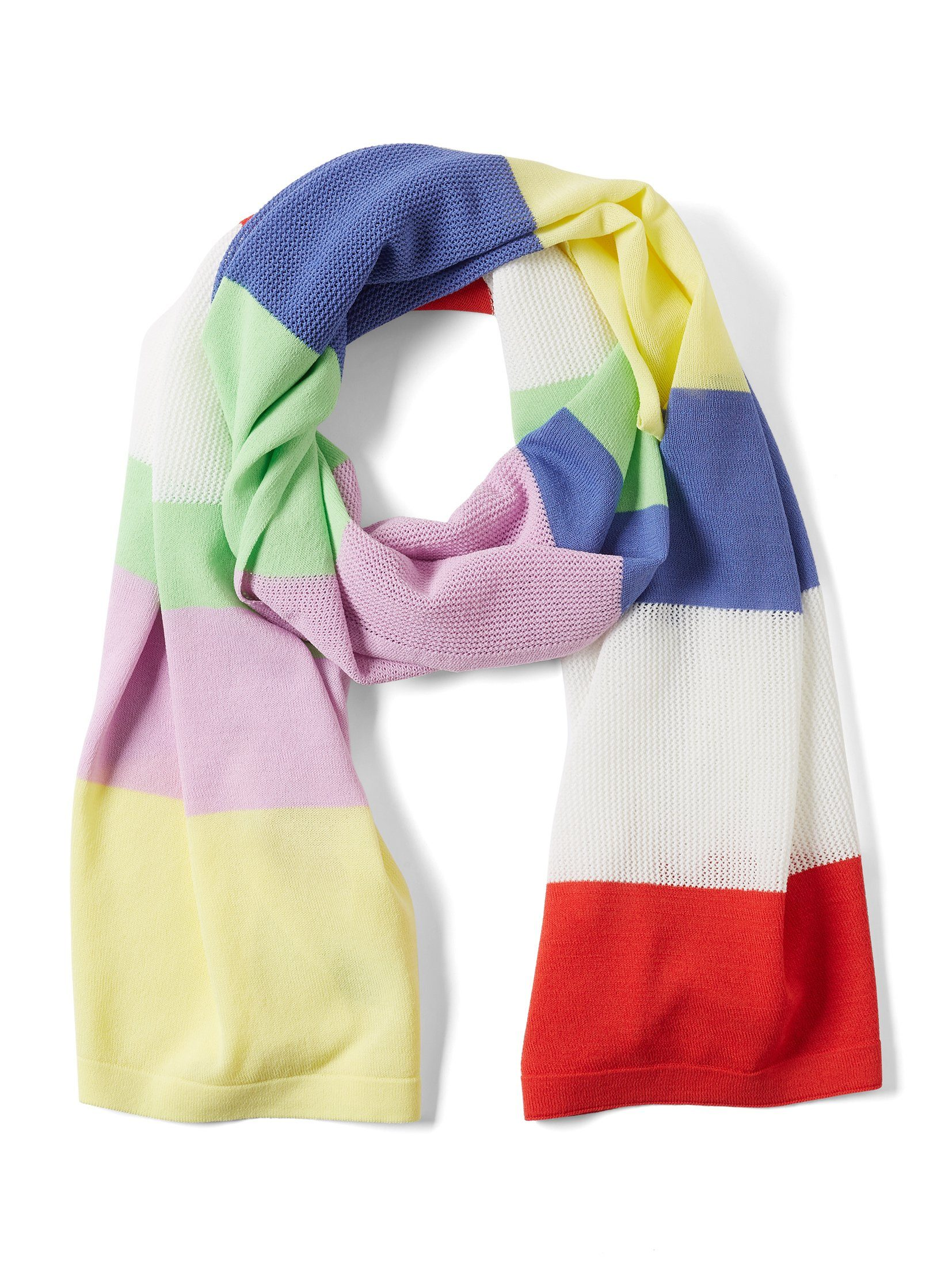 Tom Tailor Denim Modeschal »Tuch im Colorblocking-Stil«