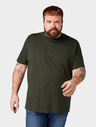 TOM TAILOR Denim T-Shirt »T-Shirt mit Paisleymuster«