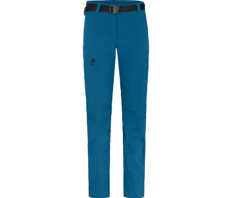 Bergson Outdoorhose »HYDRYS« vielseitige Damen Wanderhose, Langgrößen, Saphir blau