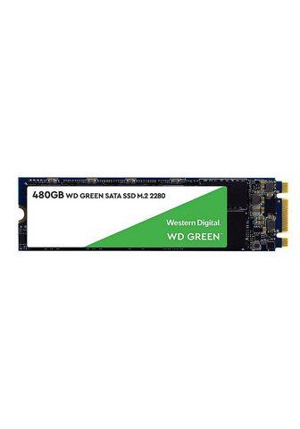 WESTERN DIGITAL Green SSD 480GB M.2 2280 SATA »interne...