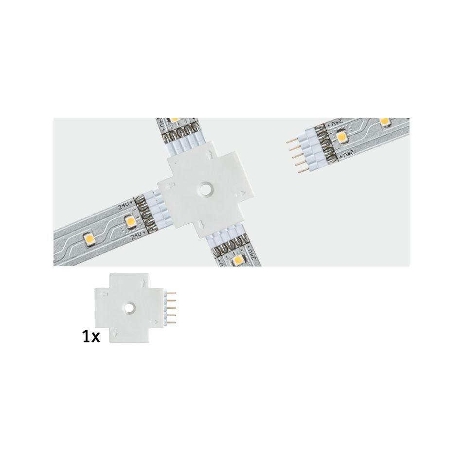 Paulmann LED-Streifen »MaxLED X-Verbinder Weiß«