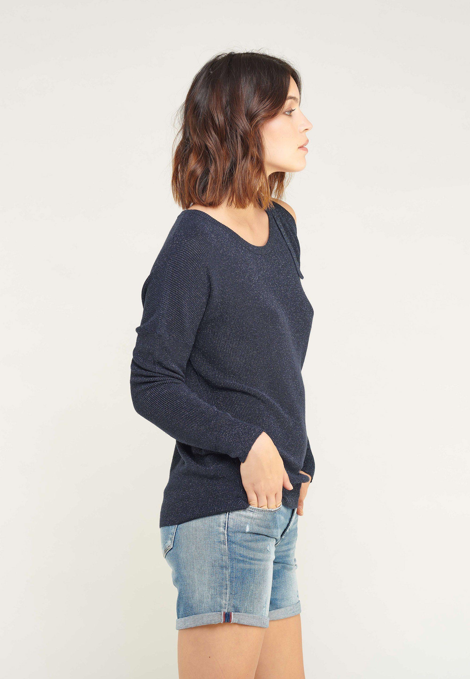 Le Temps Des Cerises Jeansshorts im leichten Used-Look