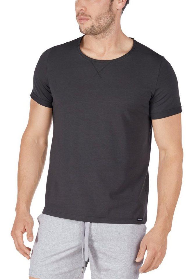 Skiny Sloungewear T-Shirt mit körpernahem Schnitt