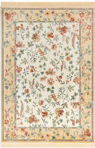 Teppich »Orient Flowers«, NOURISTAN, rechteckig, Höhe 5 mm