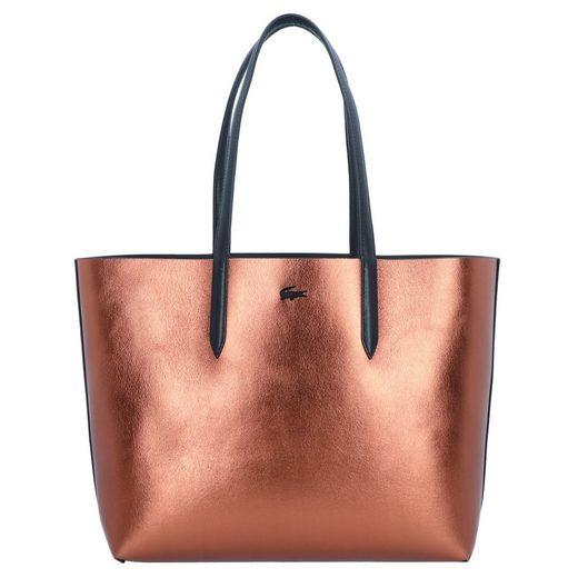 Anna Shopper Tasche Lacoste 35 Leder Cm gBYZfwq4