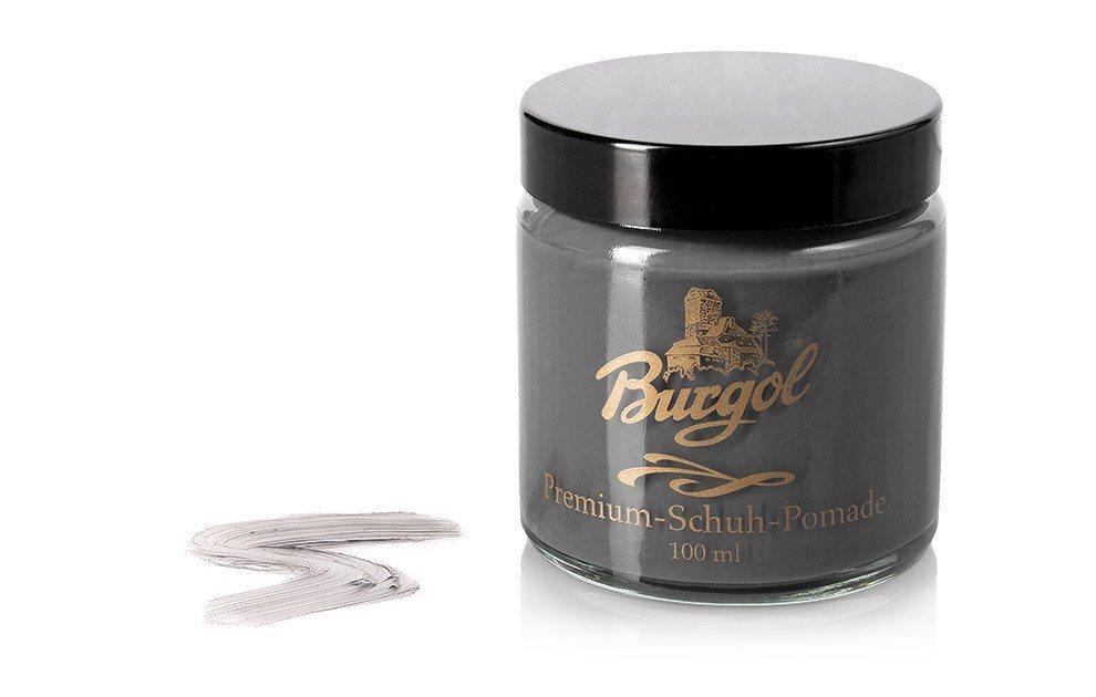 Burgol Schuhcreme »Burgol Pomade«, Hochwertige Mischemulsionscreme | Schuhe > Schuhe-Pflegemittel | Grau | Burgol