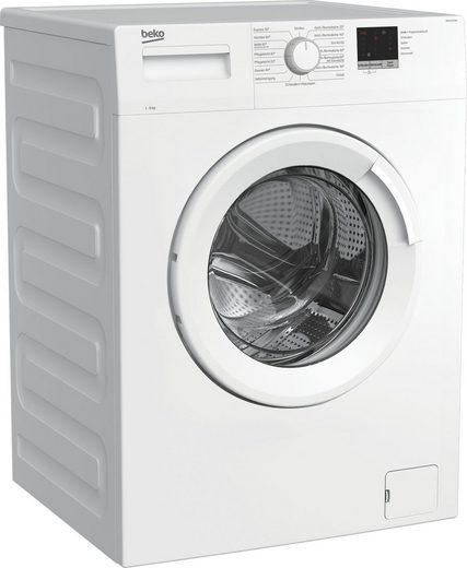 BEKO Waschmaschine WML61023N1, 6 kg, 1000 U/min