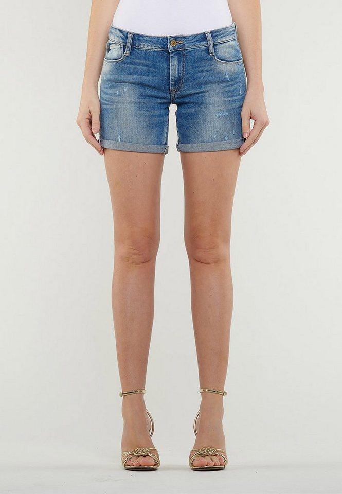 bf36fe9092c61f Le Temps Des Cerises Jeans-Shorts im angesagten Slim Fit-Cut online ...