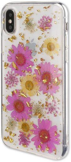 4smarts Handytasche »Soft Cover Glamour Bouquet Huawei P20 Lite«