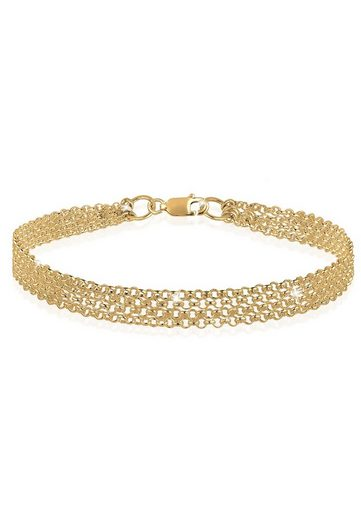 Elli Armband »925 Sterling Silber vergoldet«