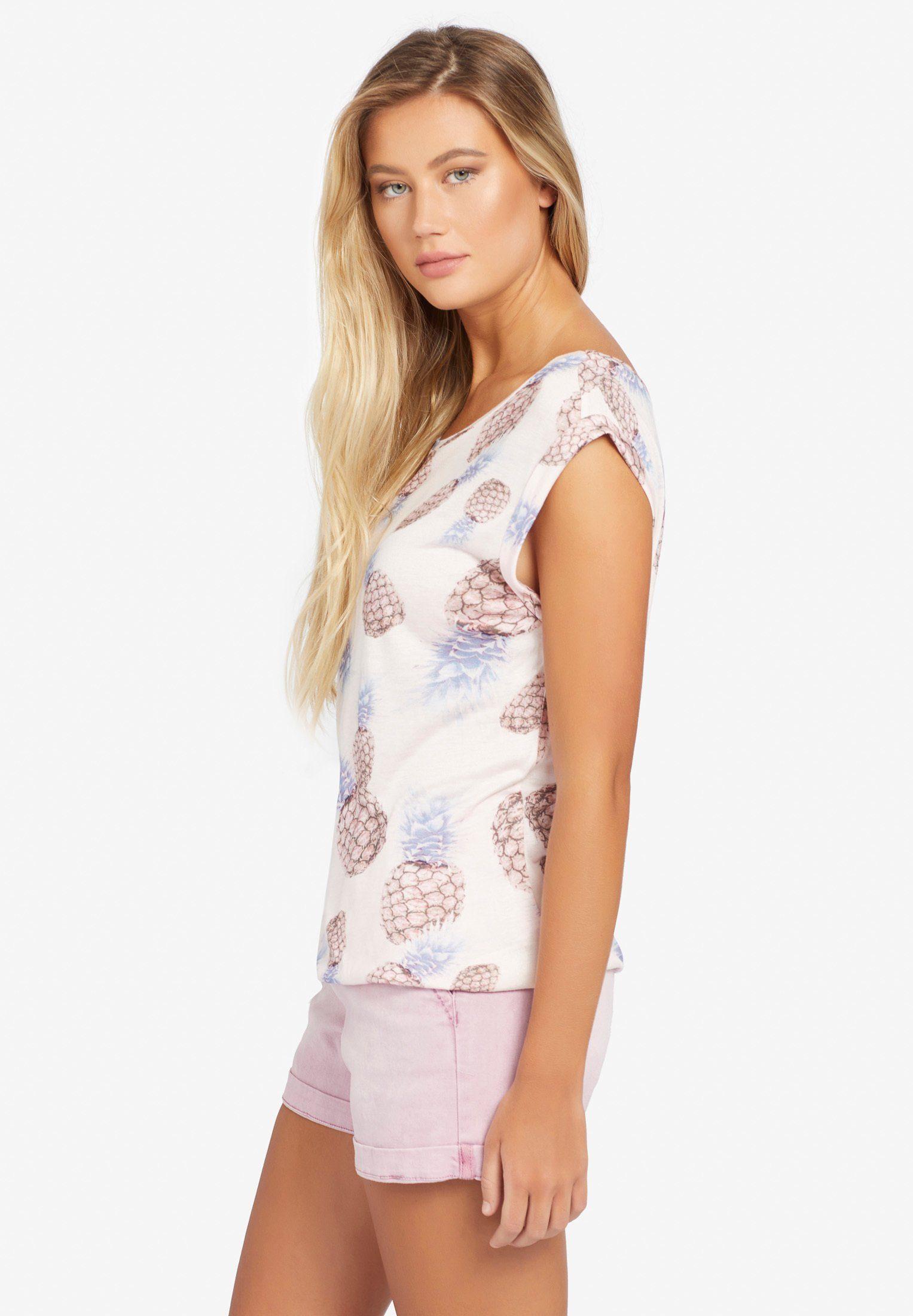 Mit over Print« shirt Khujo Print All print »pique HW2EIYD9