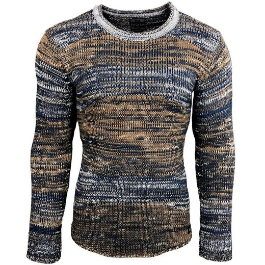 Rusty Neal Pullover in tollem Strickmuster