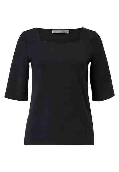 HALLHUBER T-Shirt mit Karree-Ausschnitt