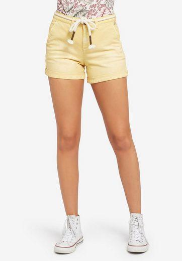 khujo Shorts »MARIANNE« (1-tlg) mit separatem Bindegürtel