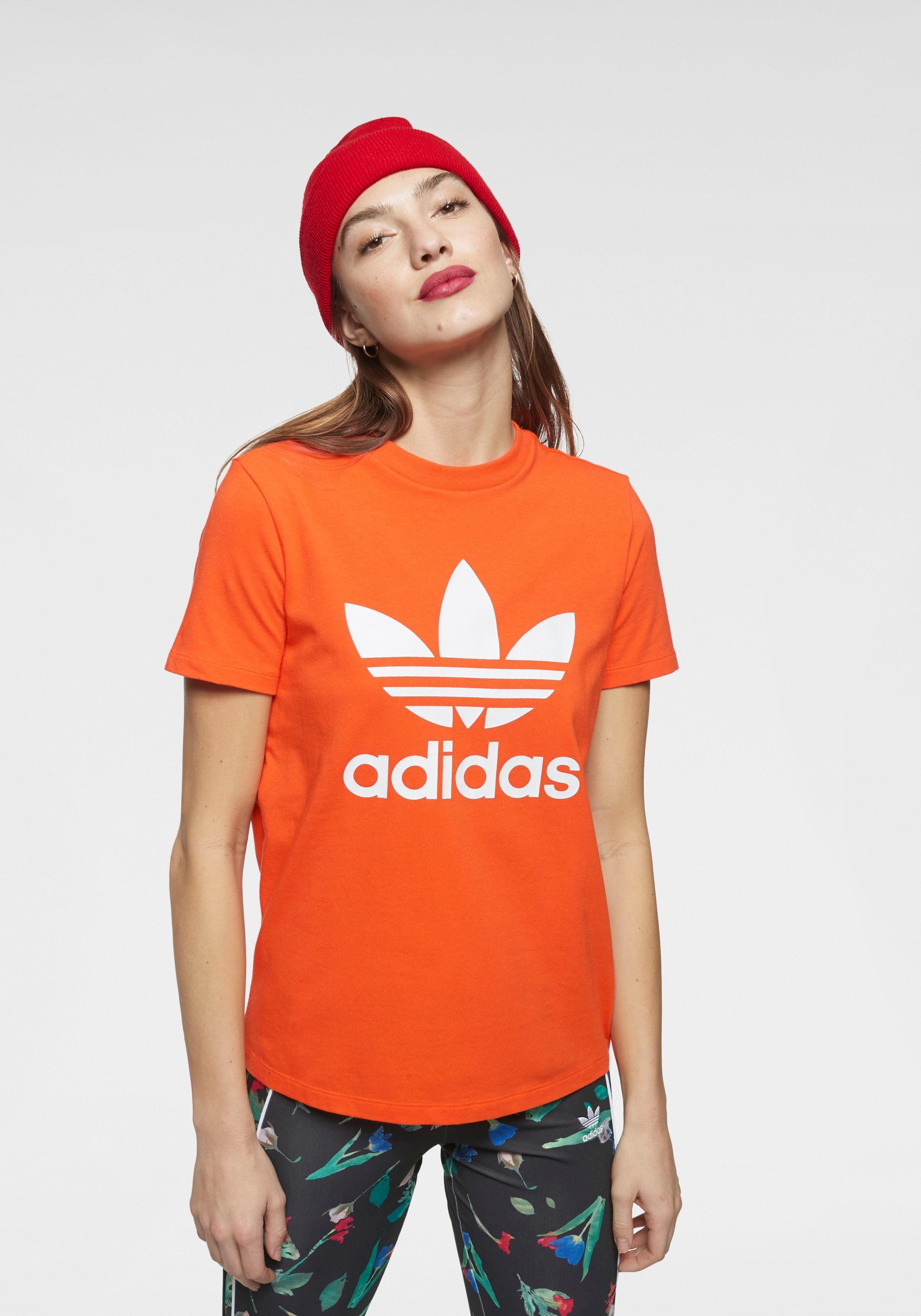 adidas Originals T Shirt »TREFOIL TEE« auf Rechnung kaufen