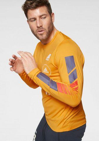 ADIDAS PERFORMANCE Marškinėliai »MOTO Palaidinė ilgomis r...