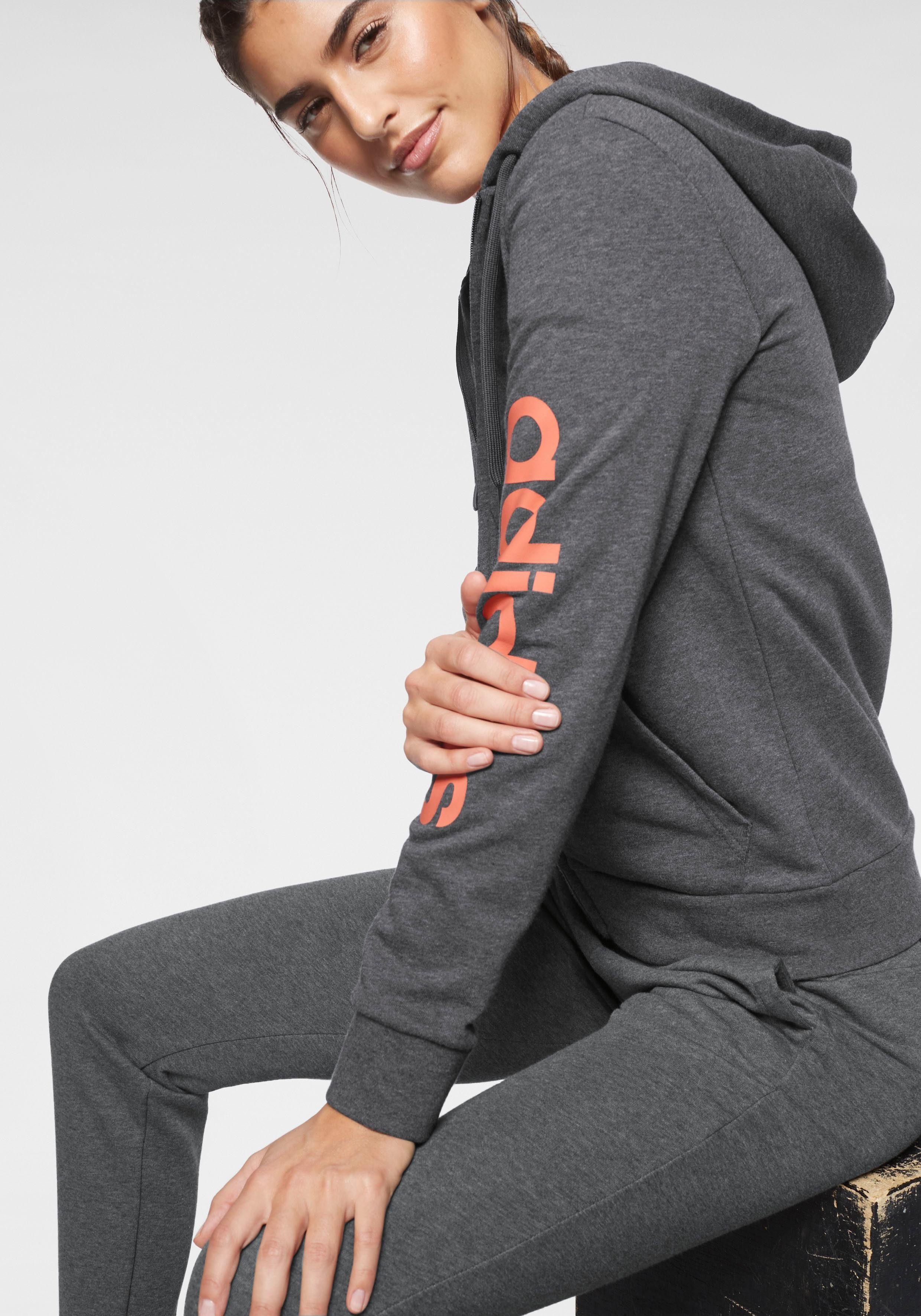 adidas Performance Kapuzensweatjacke »LINEAR FULL ZIP HOODIE« online kaufen | OTTO