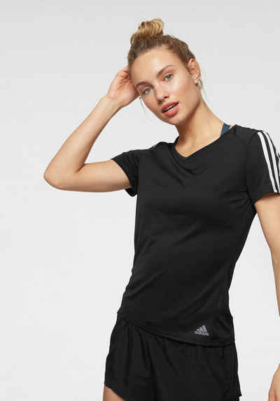8d8ac10c81 adidas Performance Laufshirt »RUN 3 STRIPES TEE W«