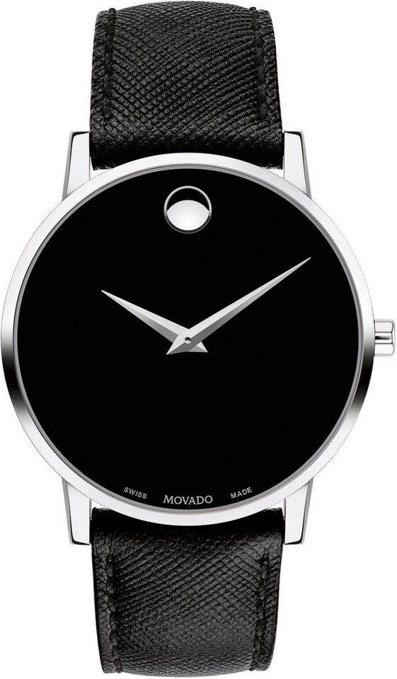 MOVADO Schweizer Uhr »MUSEUM, 607194« | Uhren > Schweizer Uhren | Schwarz | MOVADO