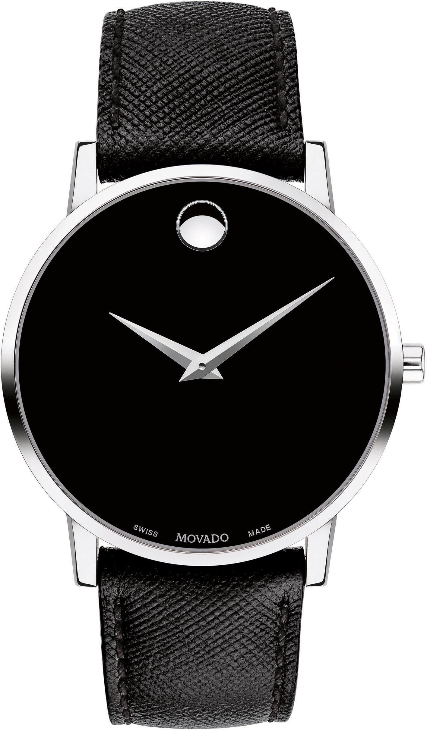 MOVADO Schweizer Uhr »MUSEUM, 607194«