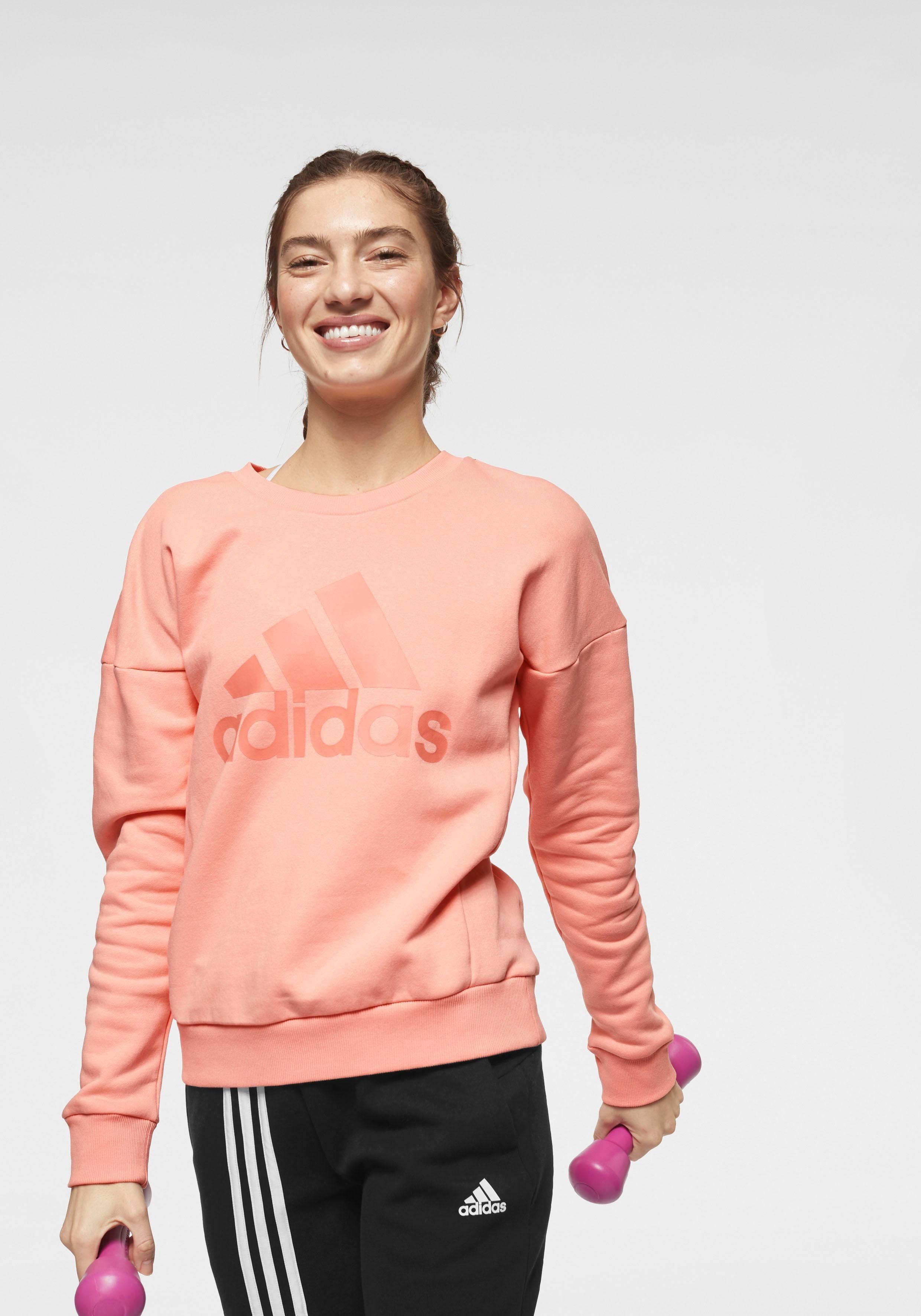 adidas Performance Kapuzensweatshirt »W MH BATCH OF SPORTS OH HOODY« online kaufen | OTTO